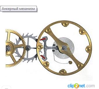 Анкерный механизм Бомарше