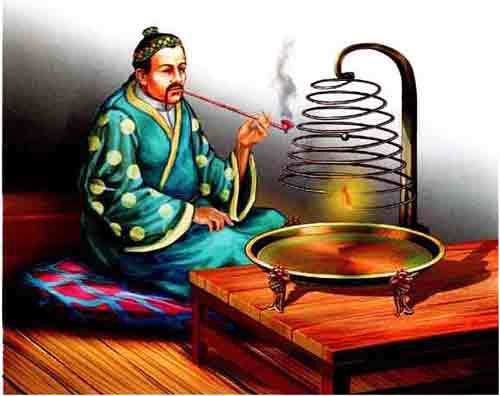 китайские огневые часы