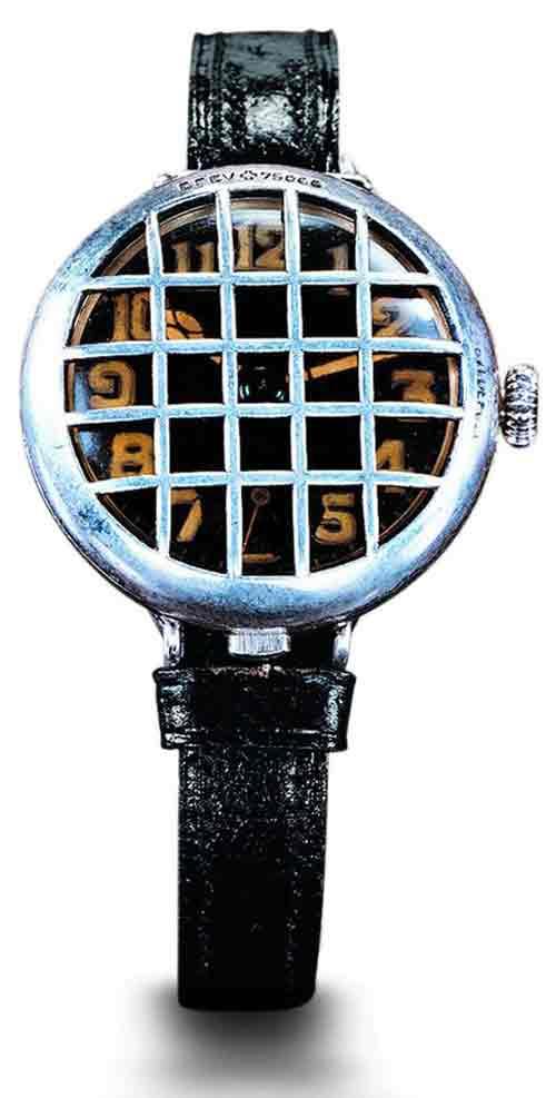 траншейные часы начала 20-века