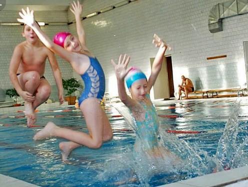 Задача про детей в бассейне