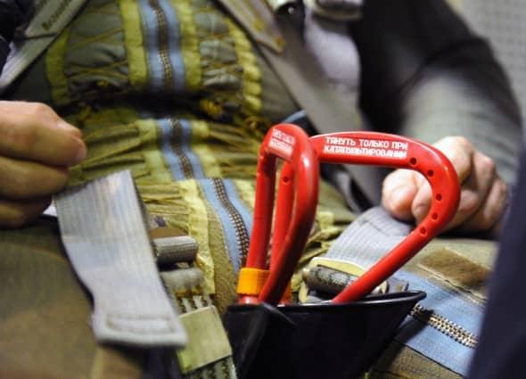 Ручки катапульты у летчика