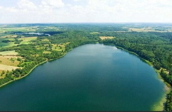 Озеро с высоты