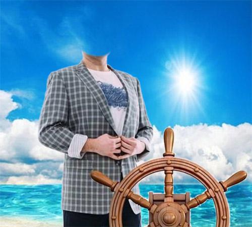 Капитан на палубе