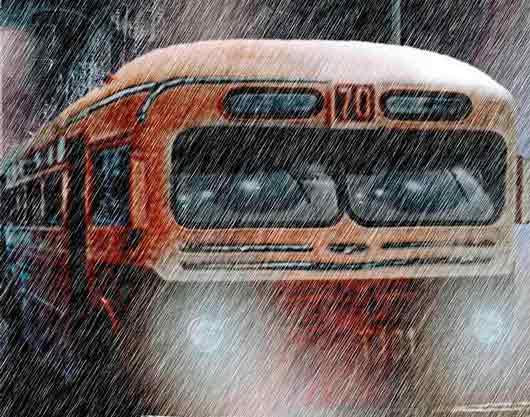 Загадки про автобус и другой транспорт