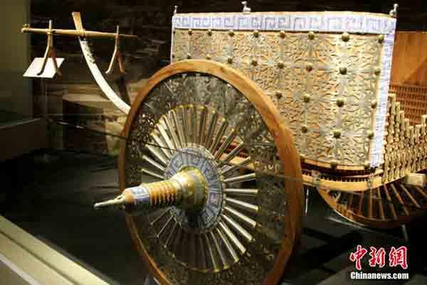 Колесница Китай 3500 лет