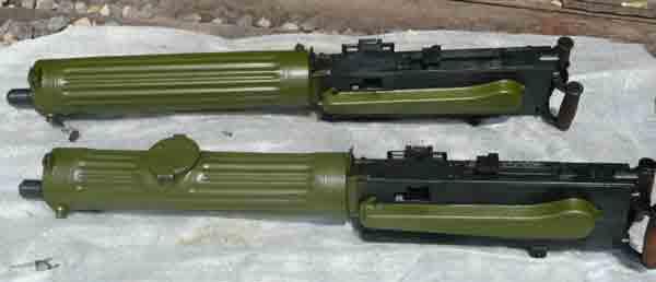 Сравнение пулеметов с разными заливными отверстиями