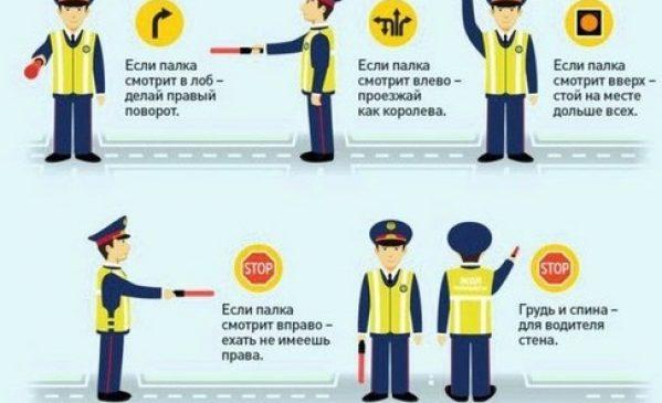 Учения правила дорожного движения